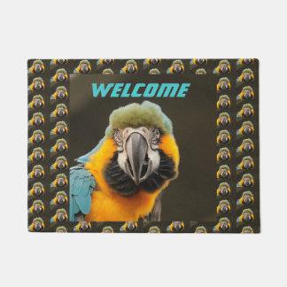 Custom Parrot Door Mat