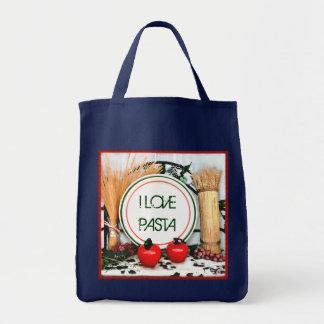 Custom Pasta Lovers Italian Flag Theme Bag