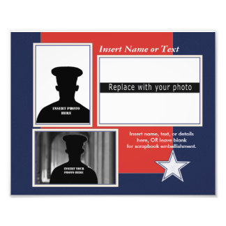 Custom Patriotic Photo Collage
