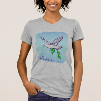 Custom Peace Dove with Olive Branch Shirt
