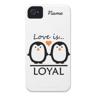Custom Penguin Love iPhone 4 Case-Mate