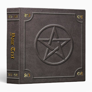 Custom Pentacle Book of Shadows Binder