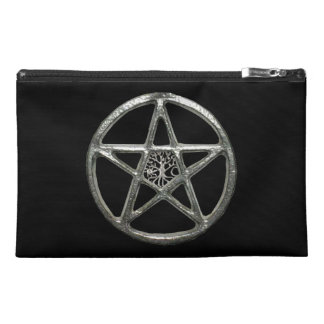 Custom Pentacle Tree Of Life Travel Accessory Bag