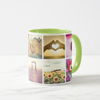 Custom personal photos mug