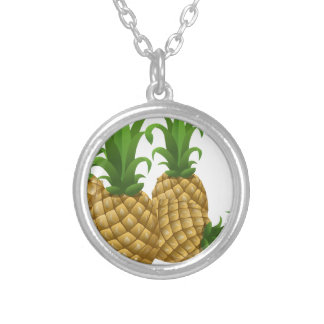custom personalize do it yourself Anniversaries Round Pendant Necklace