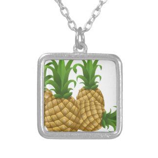 custom personalize do it yourself Anniversaries Square Pendant Necklace