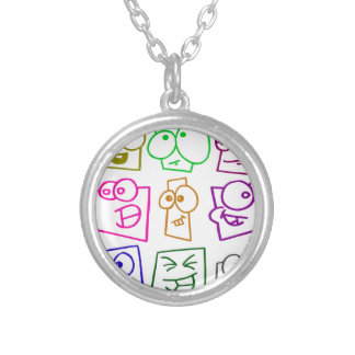 custom personalize do it yourself project home silver plated necklace
