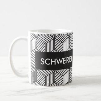 Custom Personalize Geometric Design Coffee Mug