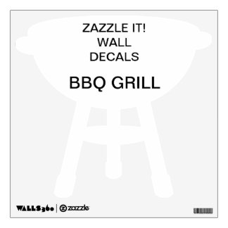 """Custom Personalized 12""""x12"""" BARBECUE Wall Decal"""