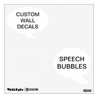"Custom Personalized 12""x12"" SPEECH BUBBLE Decal"
