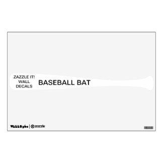 "Custom Personalized 12""x18"" BASEBALL Wall Decal"