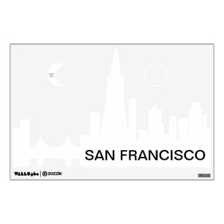 "Custom Personalized 12""x18"" SAN FRANCISCO Decal"
