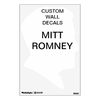 "Custom Personalized 18""x12"" MITT ROMNEY Decal"