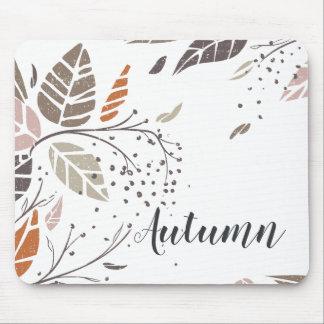 Custom Personalized Autumn Leaves | Mousepad
