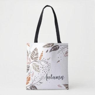 Custom Personalized Autumn Leaves | Tote Bag