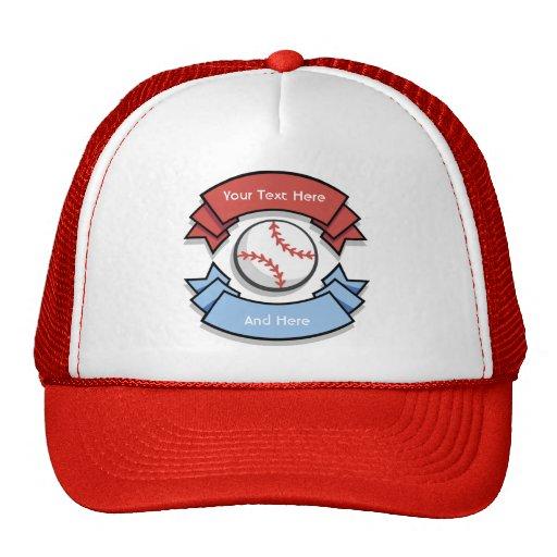 custom personalized baseball hats zazzle