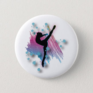 Custom Personalized Buttons Gymanst Dance