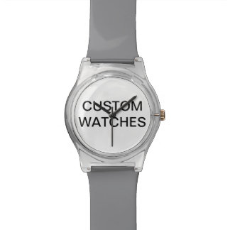 Custom Personalized Colorful Watch Blank Template