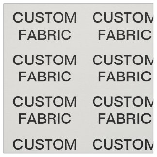 "Custom Personalized Cotton Twill Fabric 29"" x 18"""