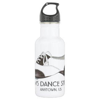 Custom Personalized Dance Studio Tap Shoe Tapdance 532 Ml Water Bottle