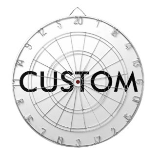 Custom Personalized Dartboard Blank Template