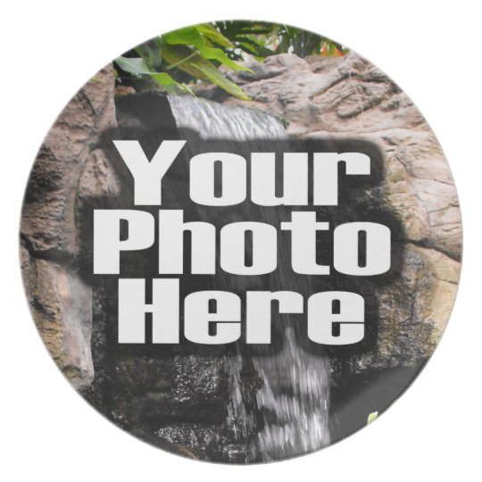 Custom Personalized Digital Photo Add Your Picture Plate
