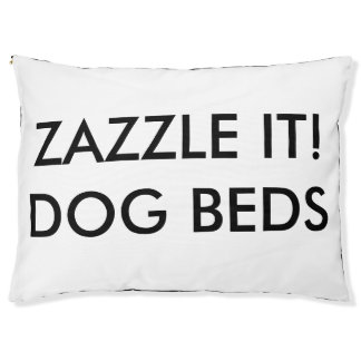 Custom Personalized Dog Bed Blank Template