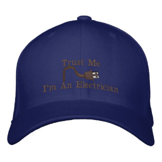 Custom Personalized Electrician Hats Embroidered Hats