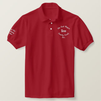 Custom Personalized Embroidered Polo Shirt