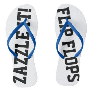 Custom Personalized Flip Flops Blank Template