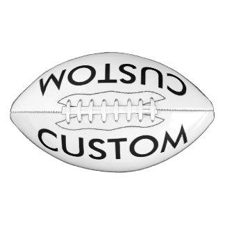 Custom Personalized Football Blank Template