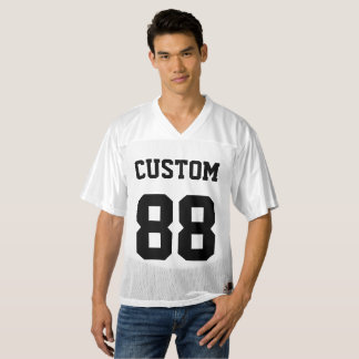 Custom Personalized Football Jersey Blank Template