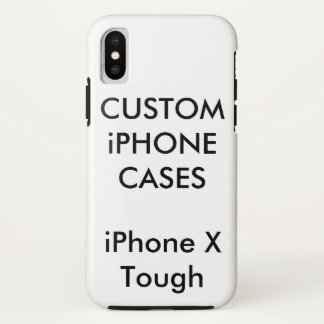 Custom Personalized iPhone X Tough Hard Shell Case