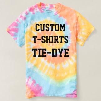 Custom Personalized Men's TIE-DYE T-SHIRT