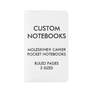 Custom Personalized MOLESKINE® Notebook Blank