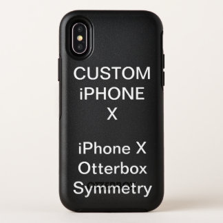 Custom Personalized Otterbox iPhone X Case