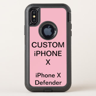 Custom Personalized Otterbox iPhone X Tough Case