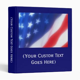 Custom Personalized Patriotic Photo Album or Binde Binders