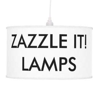 Custom Personalized Pendant Lamp Blank Template