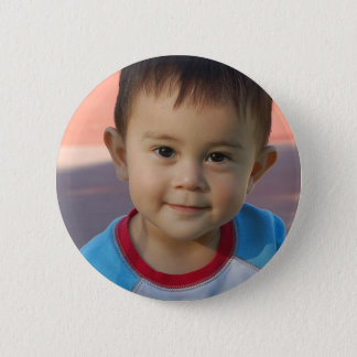 Custom Personalized Photo 2 Inch Round Button