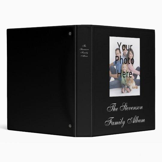 Custom Personalized Photo Album Binder