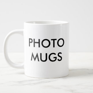 Custom Personalized Photo Giant Mug Blank