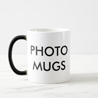 Custom Personalized Photo Magic Mug Blank Template