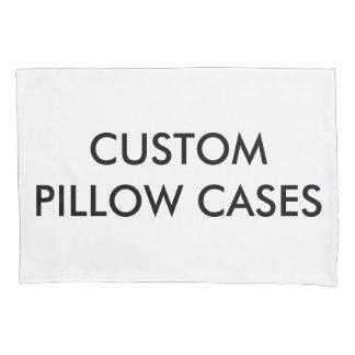 Custom Personalized Pillowcases Blank Template