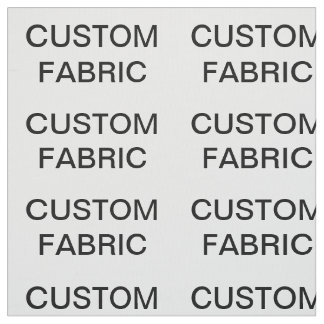 "Custom Personalized Pima Cotton Fabric 27"" x 18"""