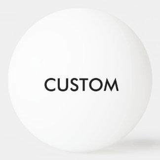 Custom Personalized Ping Pong Ball Blank Template