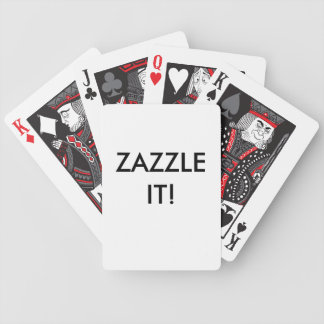 Custom Personalized Playing Cards Blank Template