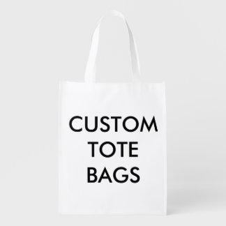 Custom Personalized Reusable Bag Blank Template Reusable Grocery Bag