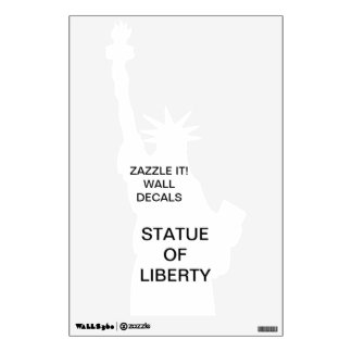 Custom Personalized STATUE OF LIBERTY Wall Decal