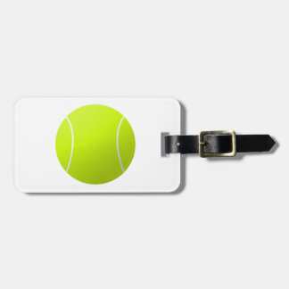 Custom Personalized Tennis Ball Gift Bag Tag